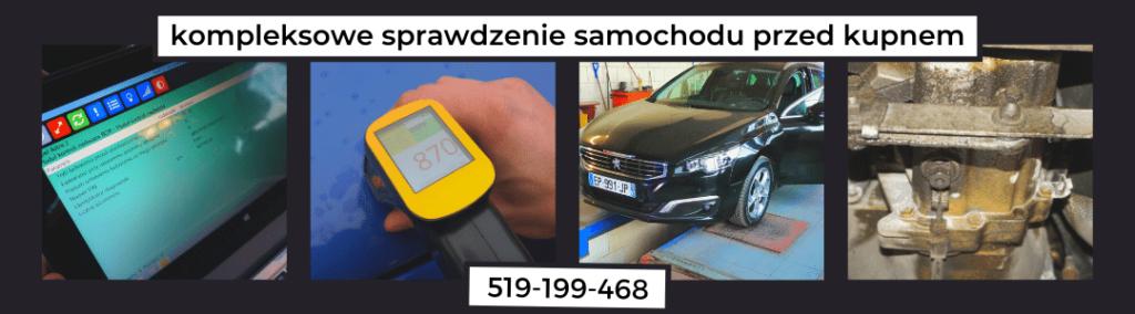 kompleksowe sprawdzenie samochodu przed kupnem